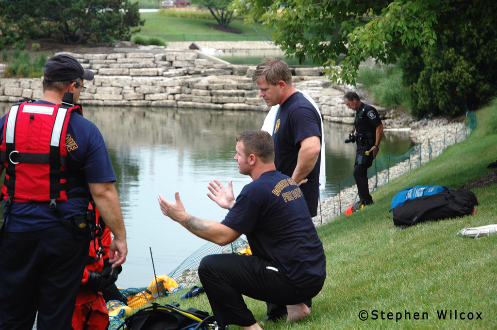 Downers Grove dive rescue 7/28/11
