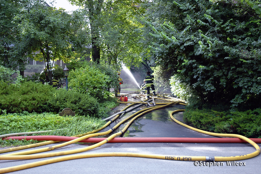 Downers Grove house fire 7/16/11 5130 Meadow