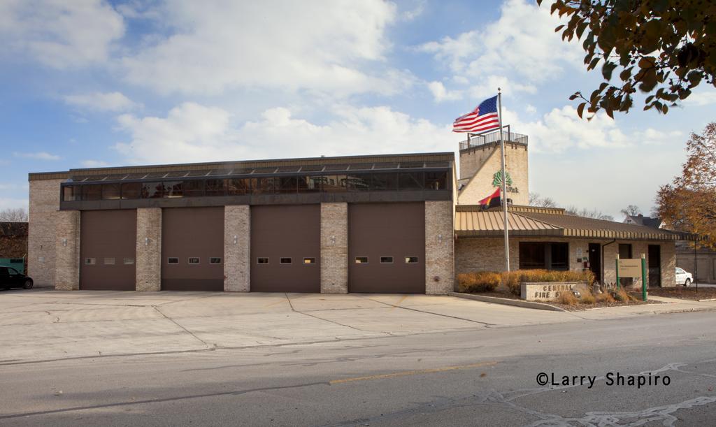 Oak Park Fire Department headquarters Station 1
