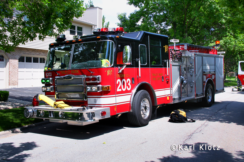 Tinley Park Fire Department Engine 203