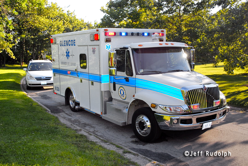 Glencoe Fire Department Ambulance 30