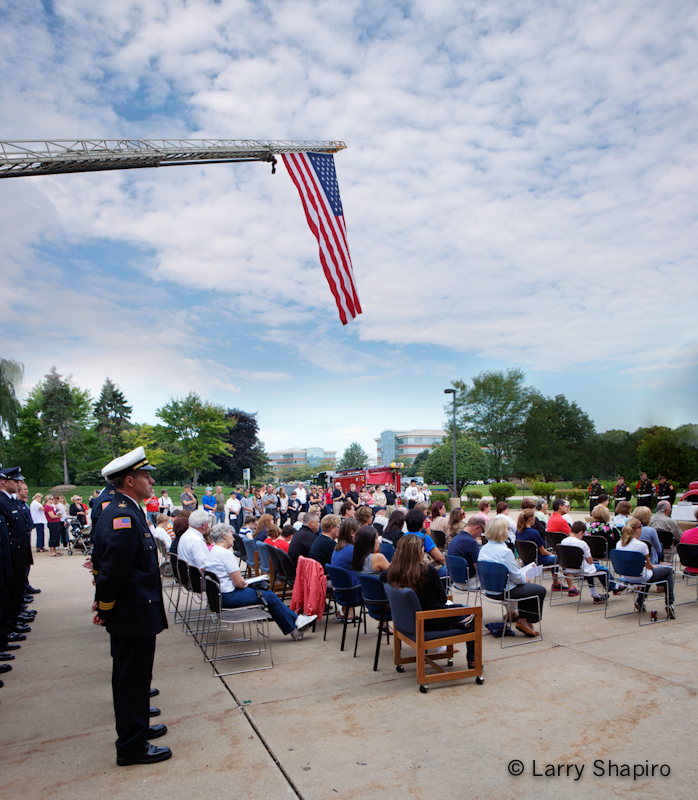 Lincolnshire-Riverwodds FPD 9/11 Memorial Ceremony
