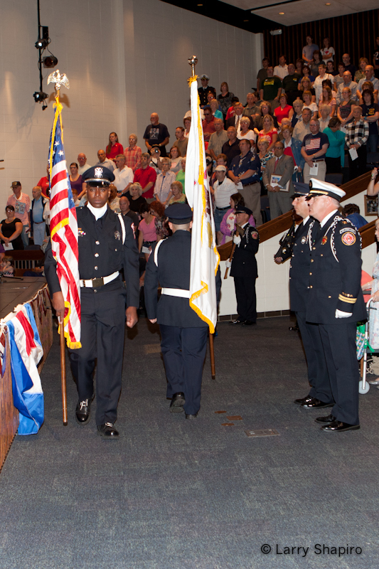 Buffalo Grove Fire and Police Department 9/11 remembrance