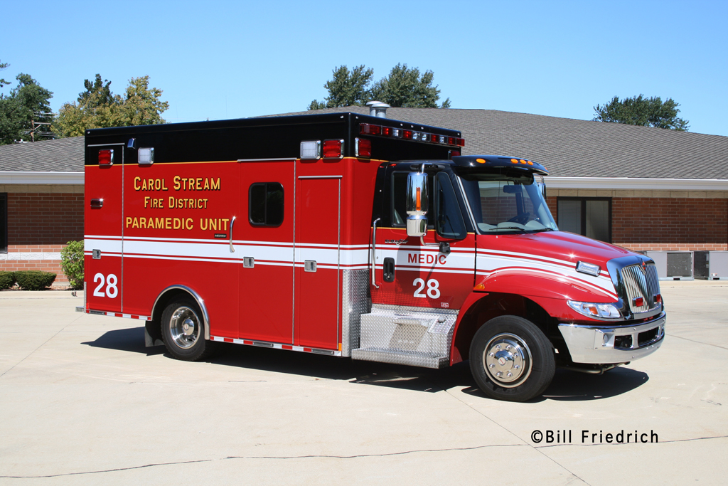 Carol Stream Fire District Medic 28 IHC Medtec