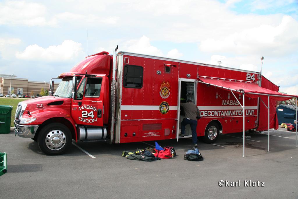 Firefighter Combat Challenge Tinley Park IL MABAS Division 24 DECON Unit