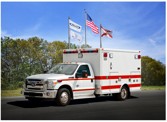 Chicago Heights Fire Department Medtec ambulance