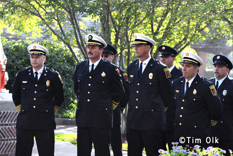 Lake Forest 9/11 remembrance ceremony 10th anniversary