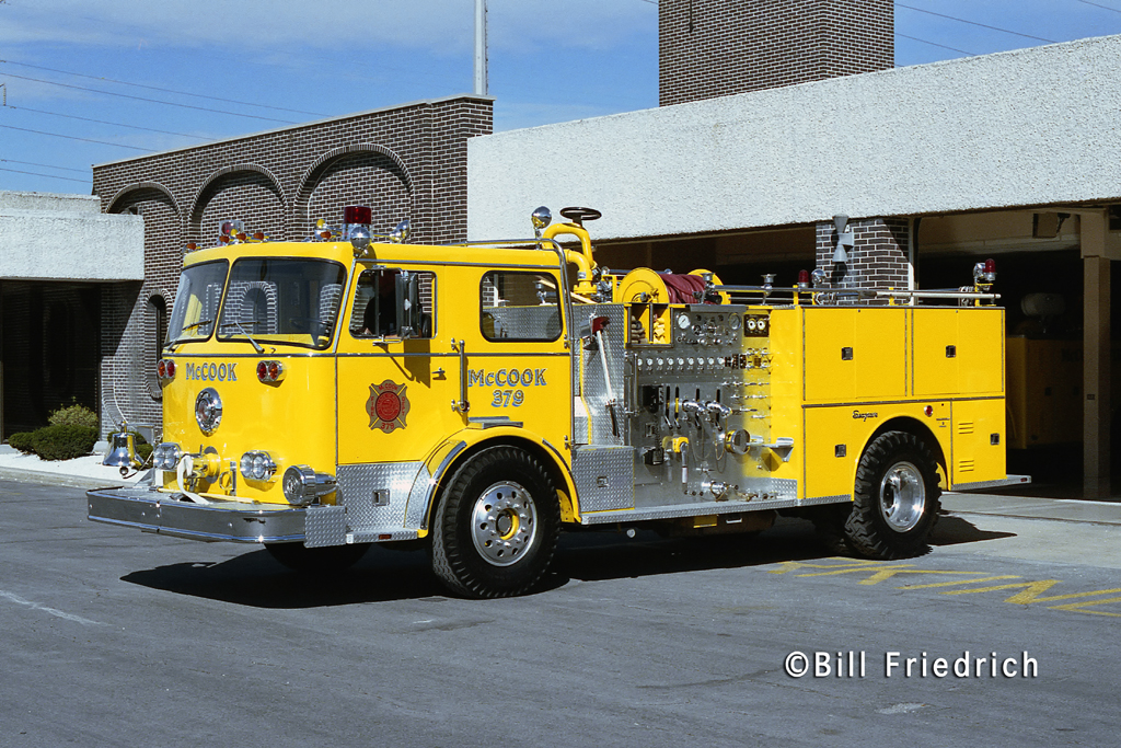 McCook Fire Department 1979 Seagrave engine