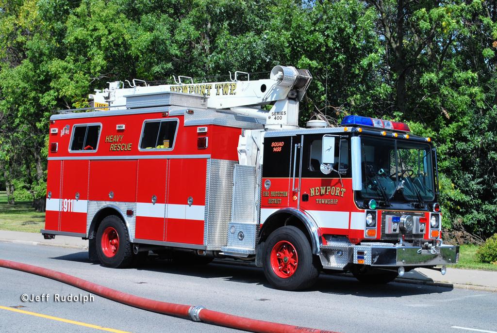 Newport Township FPD Squad 1455