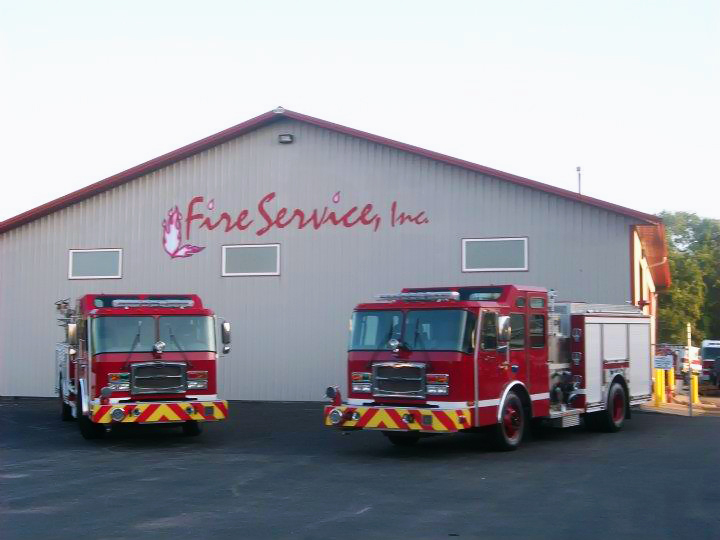 Riverdale Fire Department new engines