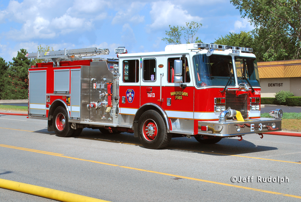 Waukegan Fire Department  2011 KME engine
