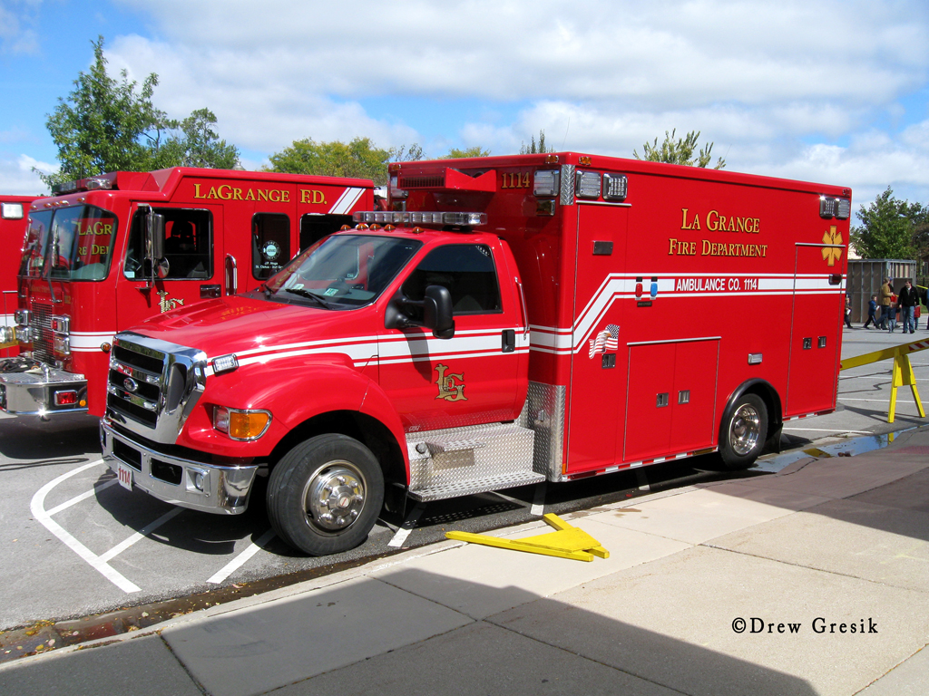 LaGrange Fire Department ambulance