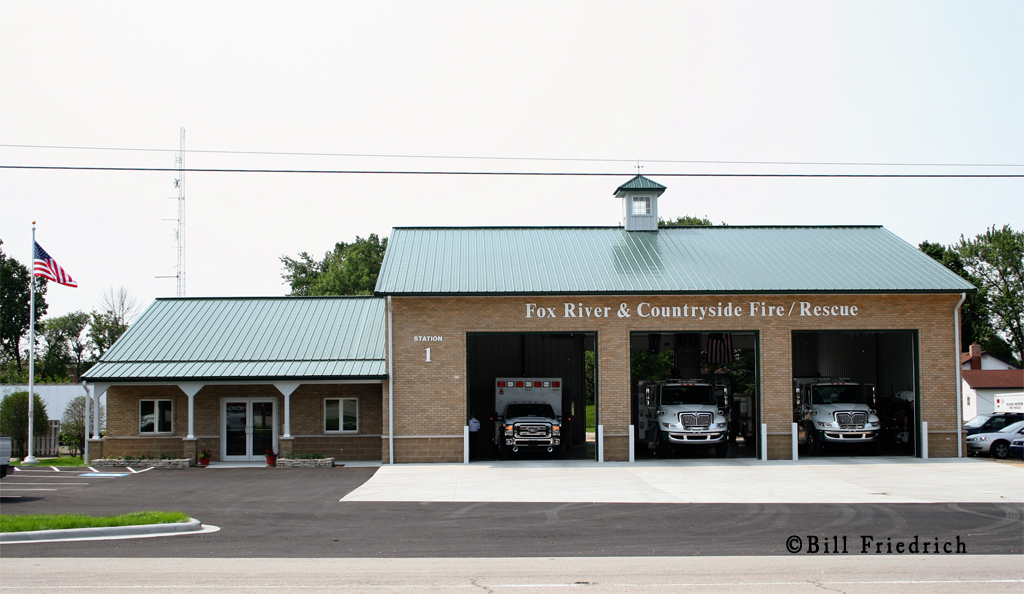 Fox River & Countryside Fire Rescue District Station 1