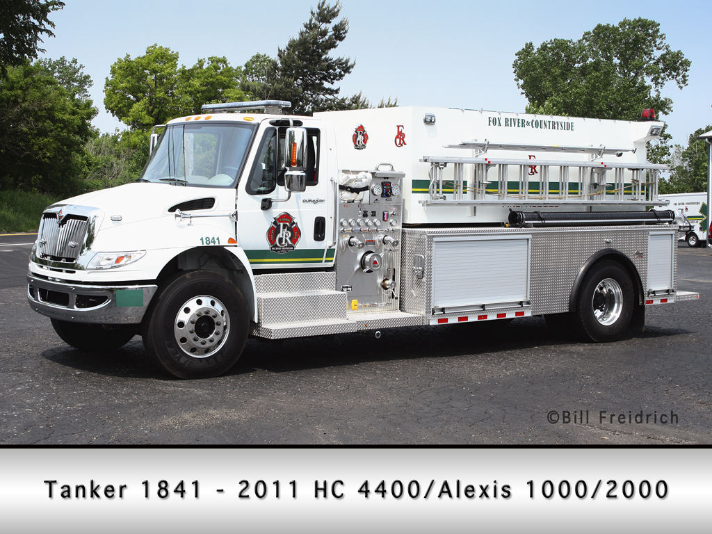Fox River & Countryside Fire Rescue District Tanker 1841