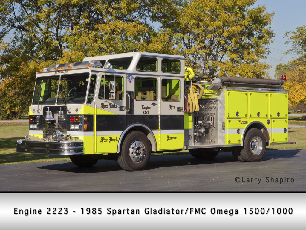 Fox Lake Fire Department FMC Omega pumper