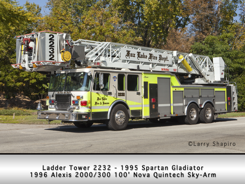 Fox Lake Fire Department Ladder Tower 2232