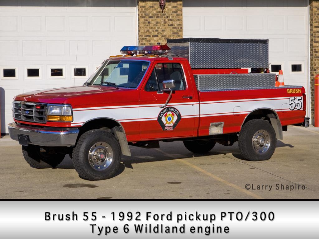 Long Grove Fire Department Brush 55