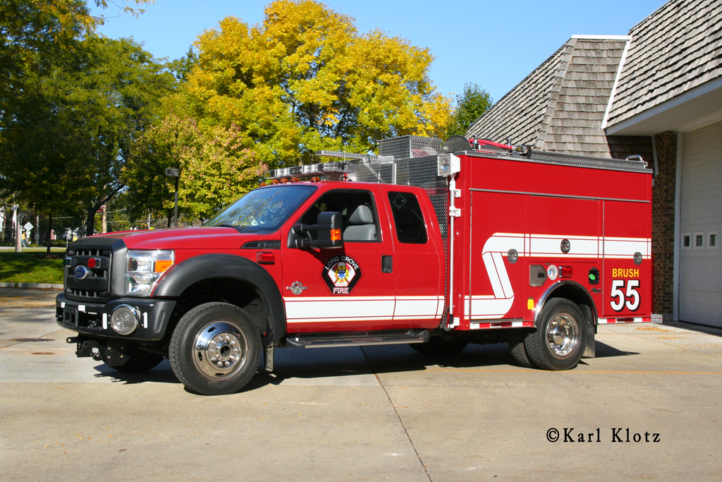 Long Grove Fire Department Brush Unit 55