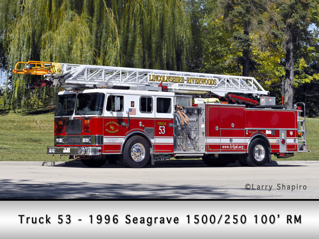 Lincolnshire-Riverwoods FPD Truck 53 Seagrave quint