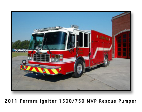 Lemont Fire Department Ferrara Igniter MVP Rescue Pumper