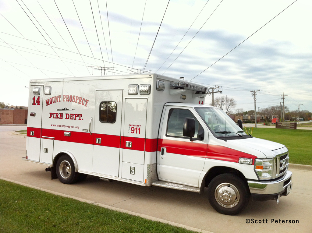 Mount Prospect Fire Department Ambulance 14 Medtec