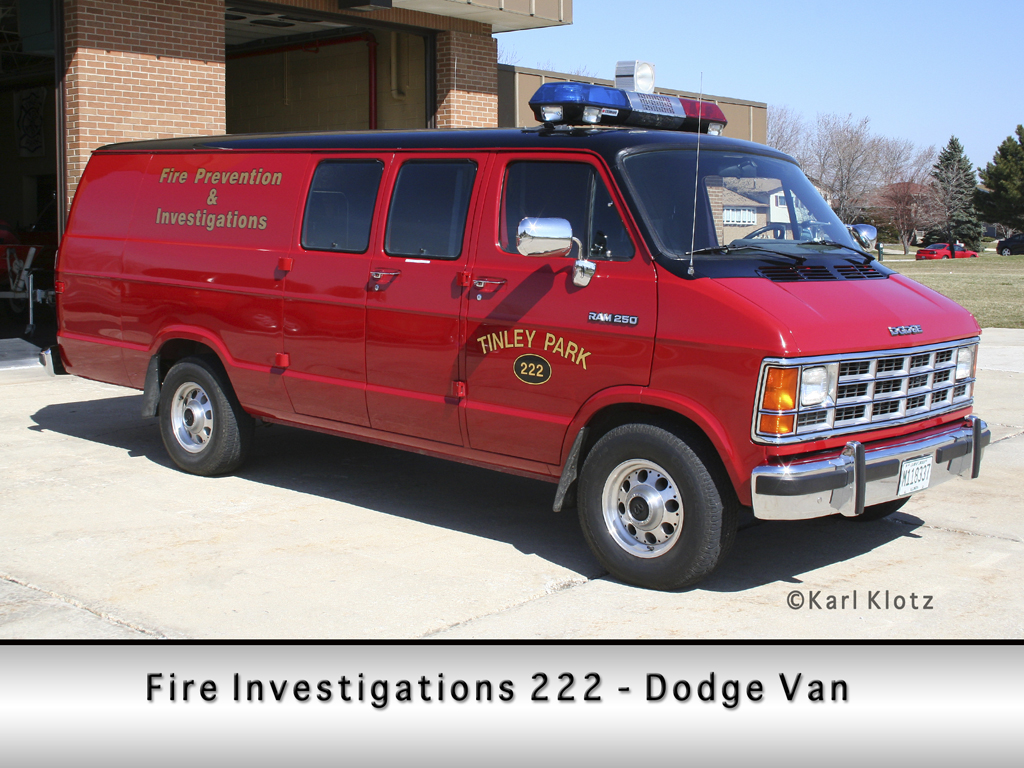 Tinley Park Fire Department Fire Investigation Unit