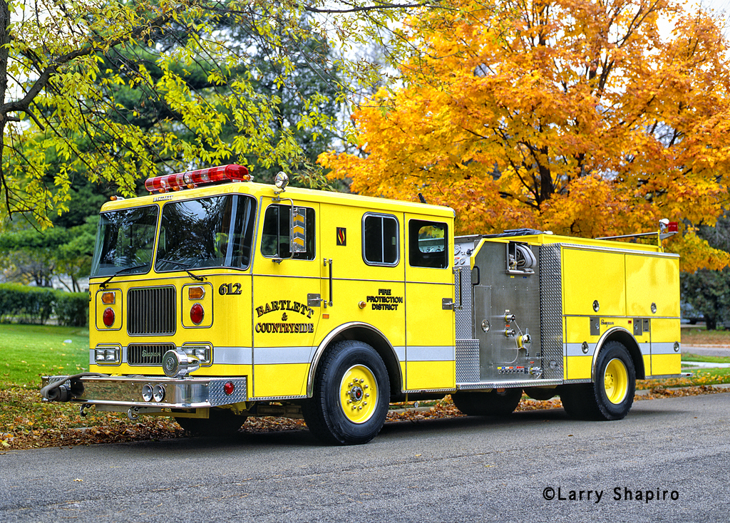 Bartlett Fire Protection District Engine 612 Seagrave