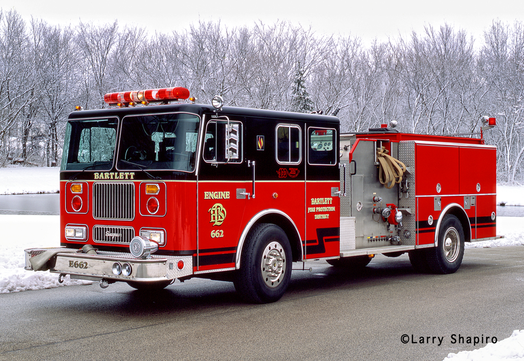 Bartlett Fire District Engine 662