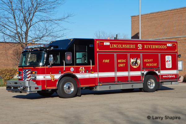 Linclonshire-Riverwoods Fire Protection District Squad 51