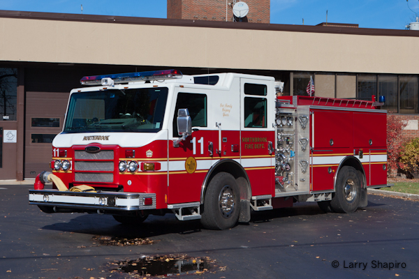 Northbrook Fire Department Engine 11 Pierce Impel