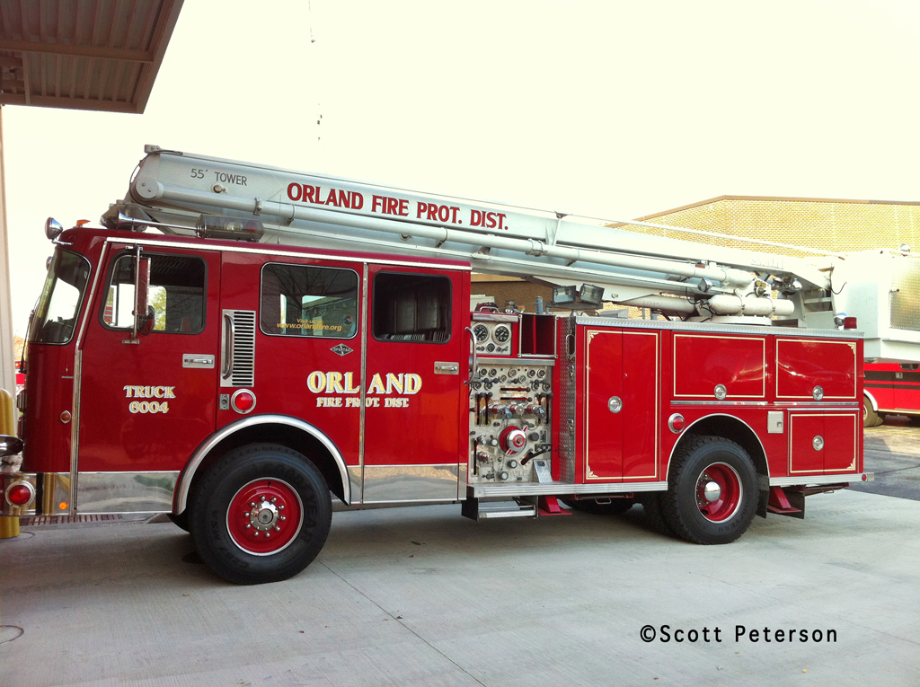 Orland Fire Protection District Snorkel 6604 Spartan Darley