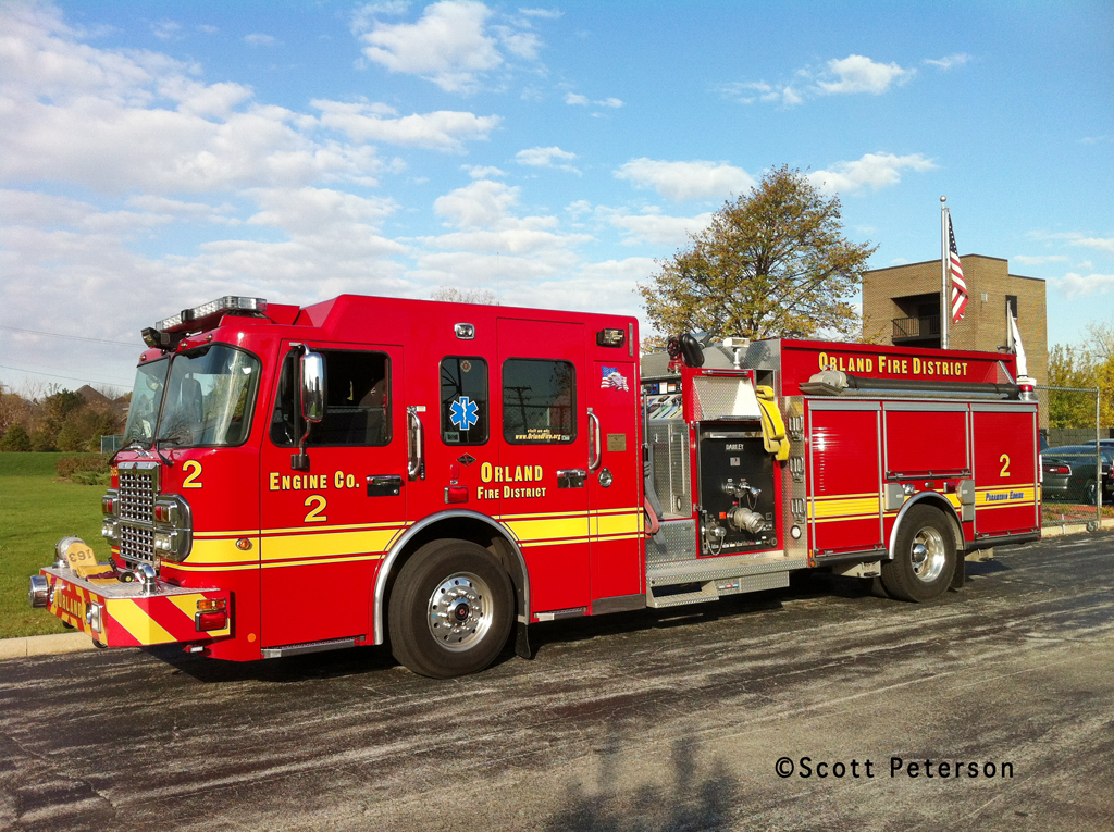 Orland Fire Protection District Engine 2 Spartan Darley