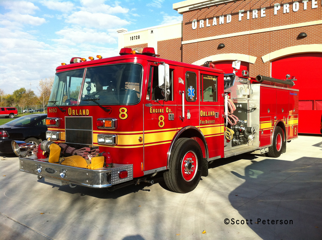 Orland Fire Protection District Engine 8 Pierce Saber