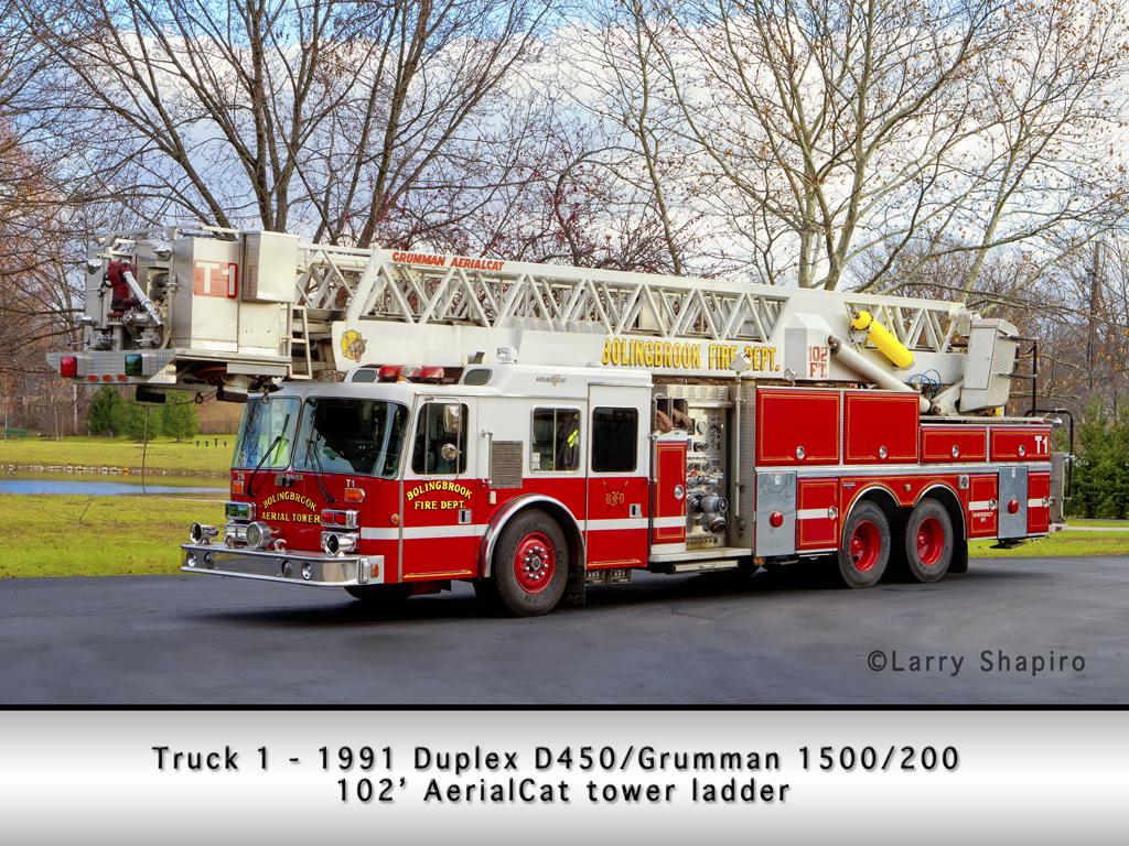 Bolingbrook Fire Department Tower 1 - Grumman AerialCat