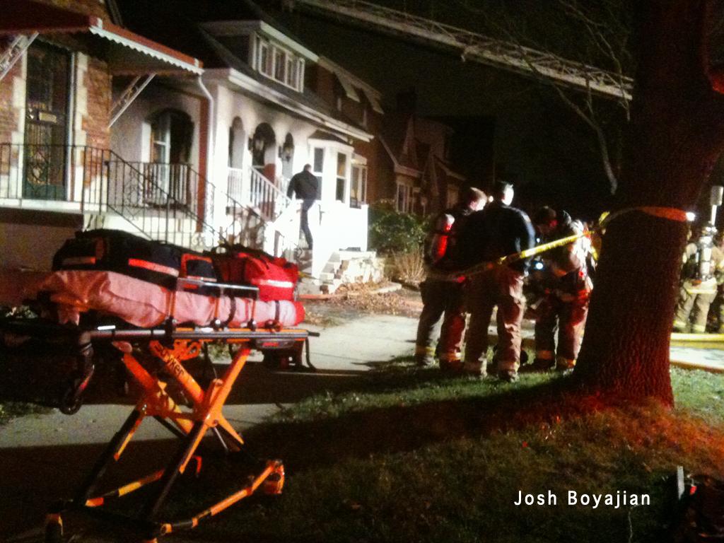 Berwyn house fire 12-12-11