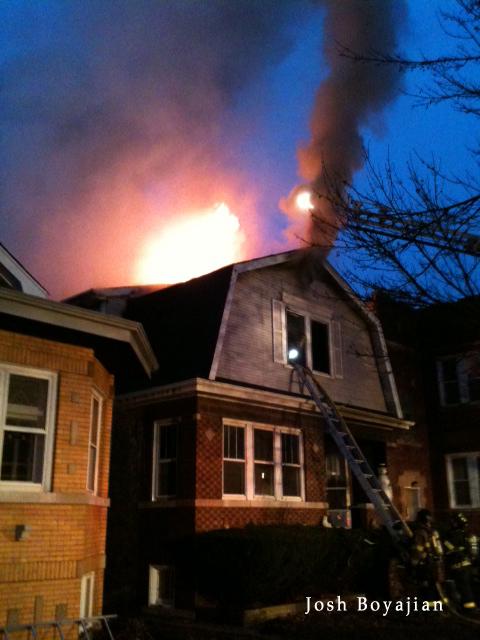 Berwyn house fire 12-21-11