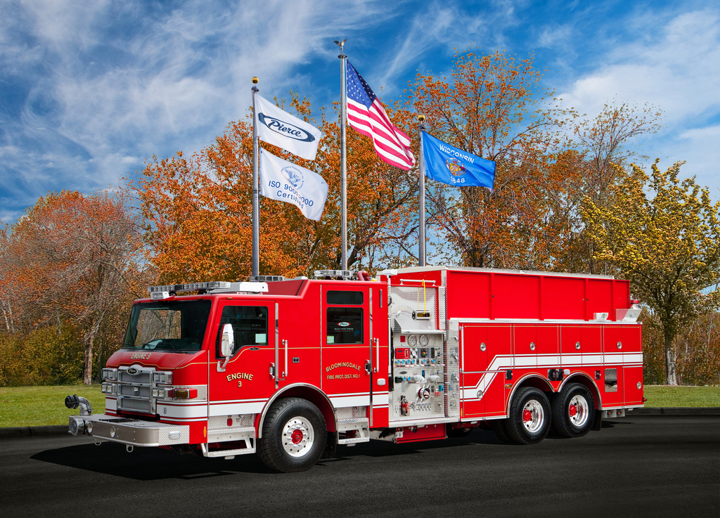 Bloomingdale Fire District Pierce Impel pumper tanker
