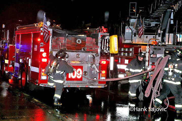 Chicago Still & Box Alarm fire 12-13-11 on Cermak