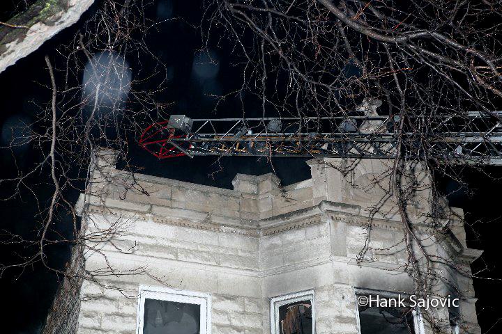 Chicago Still & Box Alarm fire 12-13-11 on Cermak