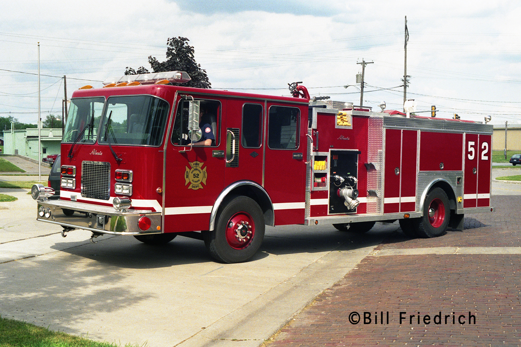 Galesburg Fire Department Engine 52 Spartan Alexis