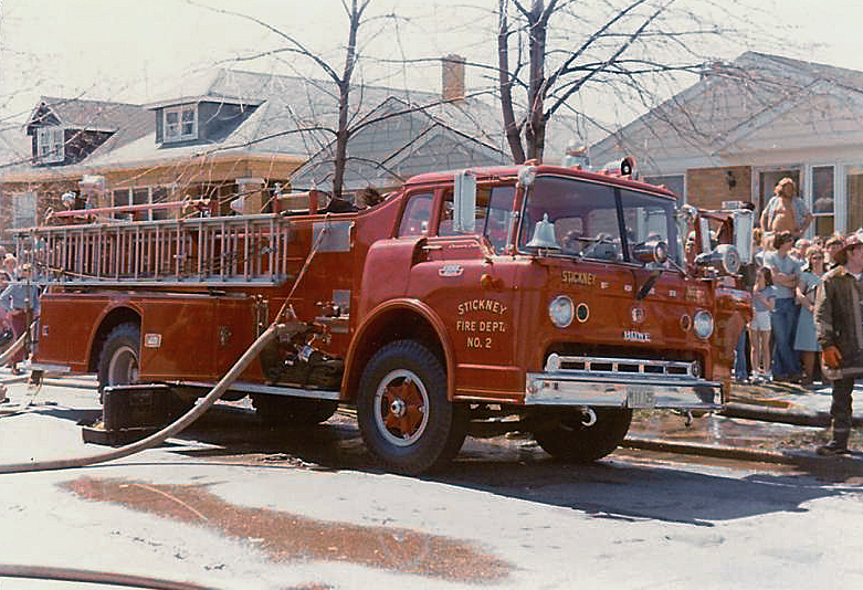 Stickney FIre Department history