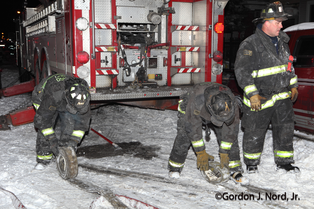 Chicago Fire Department 2-11 with Mayday 1-22-12