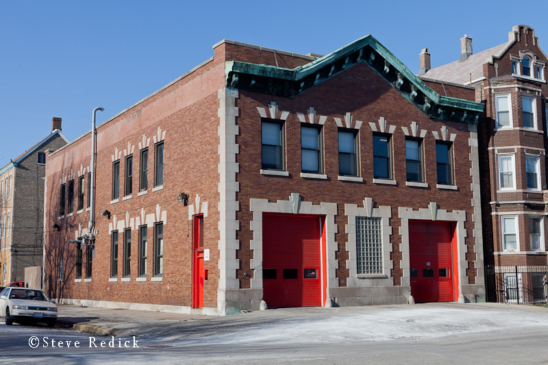 Chicago Fire Department Engine 109's fire house