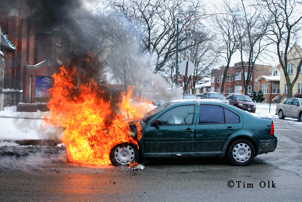Chicago Car Fire 1 15 12 171 Chicagoareafire Com