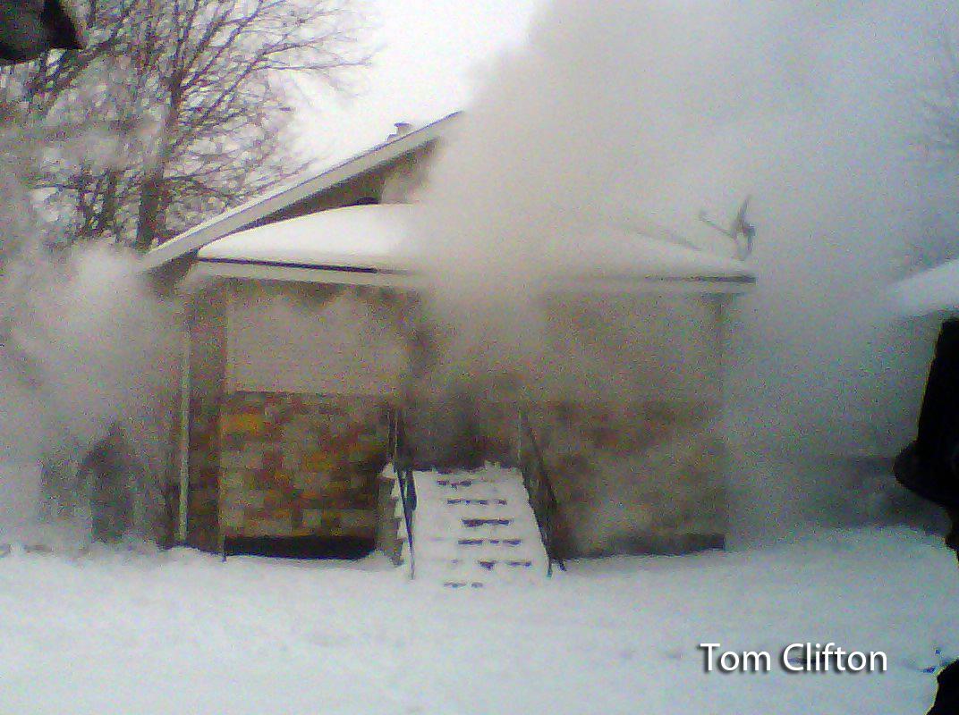 Harvey IL house fire 1-22-12