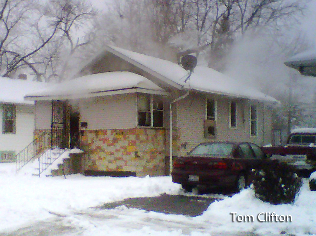 Harvey IL house fire 1-22-12
