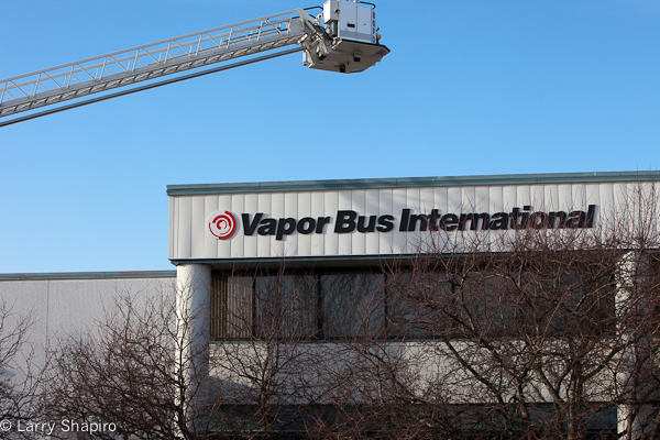 machine fire in an industrial building in Buffalo Grove 1-11-12