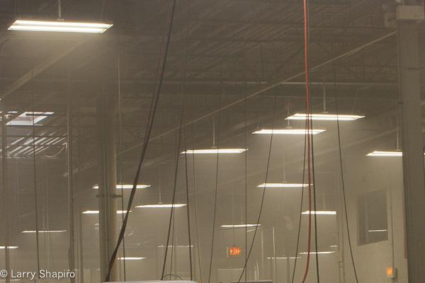 machine fire in an industrial building in Buffalo Grove 1-11-12