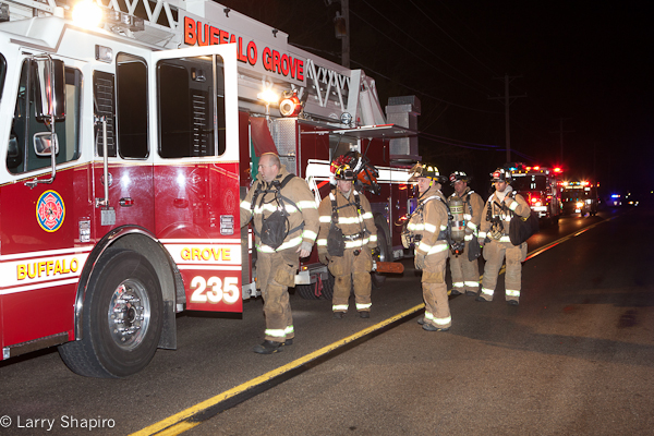 Wheeling garage fire 1-12-12 on Schoenbeck