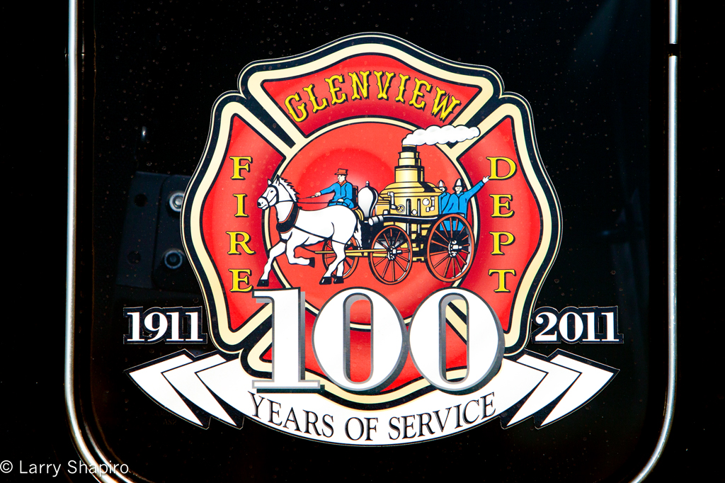 Glenview Fire Department 100th anniversary
